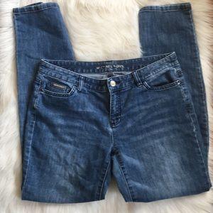 Michael Kors Broken-in Skinny Jeans Size 8